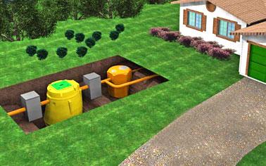 Impianti scarico acque reflue depurazione fitodepurazione for Fossa biologica a dispersione