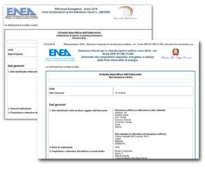 Pratiche ENEA per detrazioni 50% e 65%